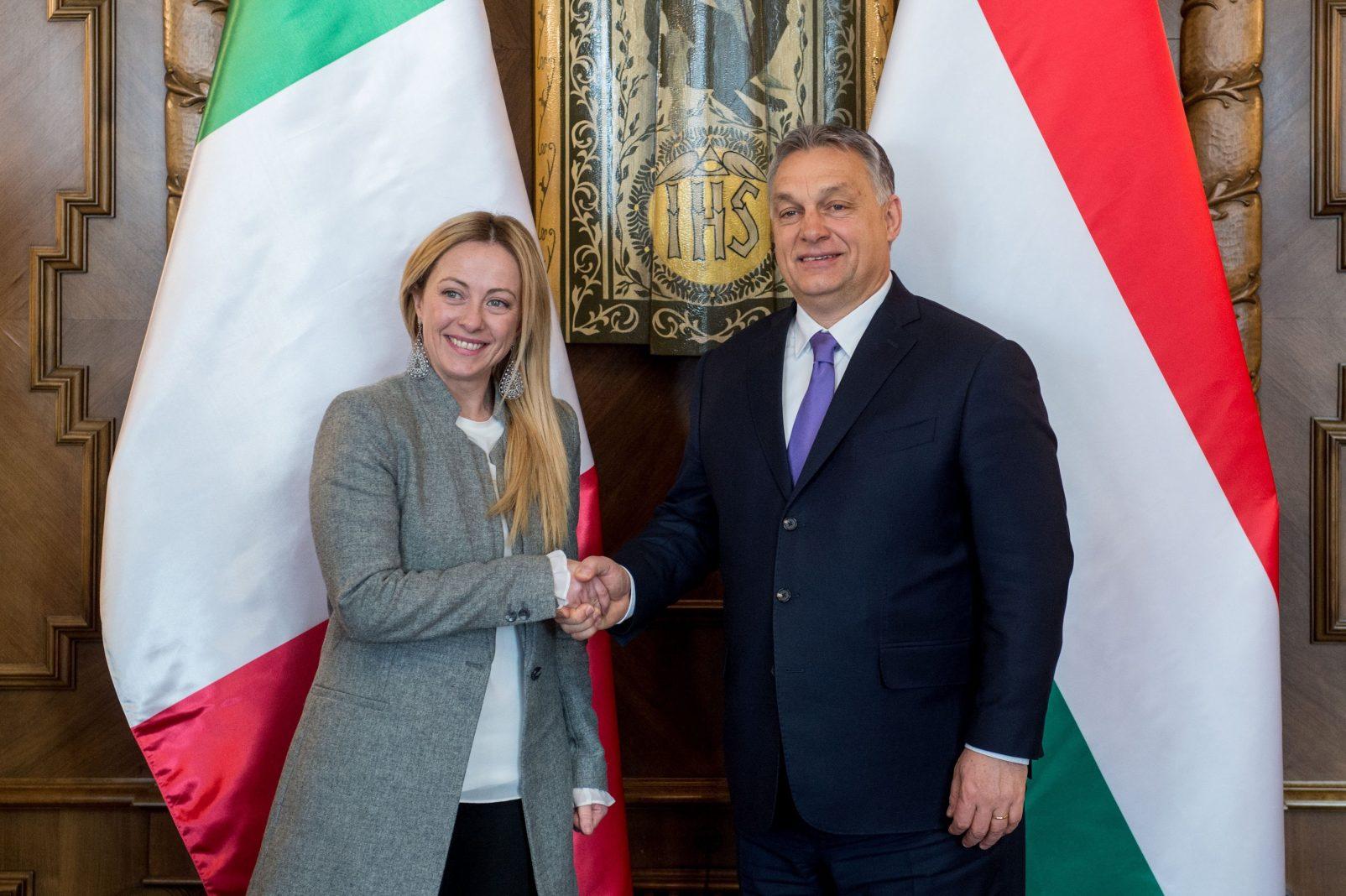 Orbán e Meloni