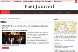 East Journal sull'Ungheria